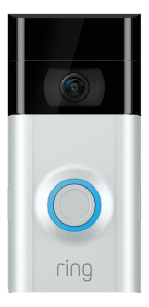 Ring Video Doorbell 2 Ringklocka med Kamera - Vit