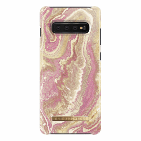 iDeal of Sweden iDeal Fashion Case för Samsung Galaxy S10 Plus - Golden Blush Marble