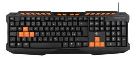 Deltaco gaming DELTACO GAMING tangentbord, anti-ghosting, nordisk