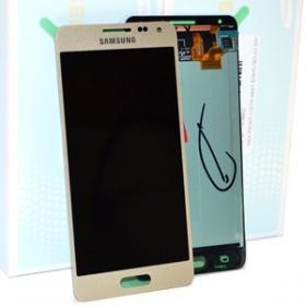 Samsung Samsung Galaxy Alpha Skärm med LCD-display, Guld - Original