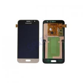 Samsung Samsung Galaxy J1 2016 Display Digitizer - Guld