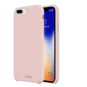 SiGN SiGN Liquid Silicone Case för iPhone 7 & 8 Plus - Rosa
