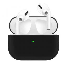 SiGN Ultra-slim Silikonfodral till Laddningsetui för Apple AirPods Pro - Svart