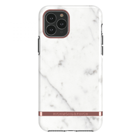 Richmond Richmond & Finch Skal för iPhone 11 Pro - White Marble