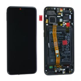 huawei Huawei Honor 10 Skärm LCD display inkl batteri - Original - Svart