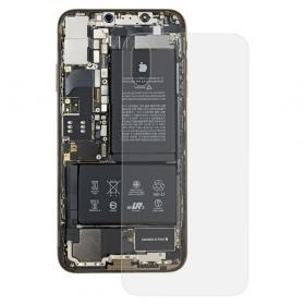 Baksida/batterilucka till iPhone XS Max - Transparent