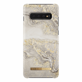 iDeal of Sweden iDeal Fashion Case för Samsung Galaxy S10 Plus - Sparkle Greige