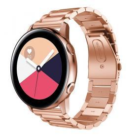 Metallarmband för Samsung Galaxy Watch Active - Roséguld