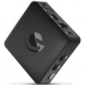 Ematic Android 4K TV Box med Chromecast - Svart