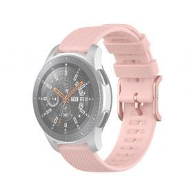 Taltech Dot Texture Armband för Samsung Galaxy Watch 45/46 mm 22 mm - Rosa