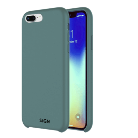 SiGN SiGN Liquid Silicone Case för iPhone 7 & 8 Plus - Mint
