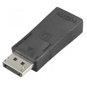 Taltech DisplayPort ha till HDMI ho Adapter - Svart
