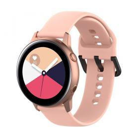 Silikonarmband för Samsung Galaxy Watch Active - Rosa