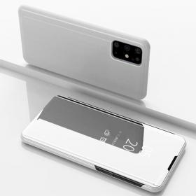 Taltech View Window Flip-Fodral till Samsung Galaxy S20 Plus - Silver