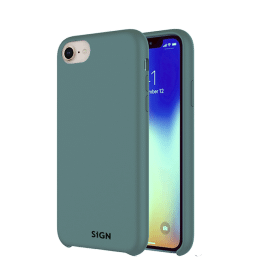 SiGN SiGN Liquid Silicone Case för iPhone 7 & 8/SE 2 - Mint
