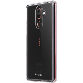 Melkco Skal för Nokia 7 Plus - Transparent