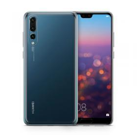 Celly Champion Slim Cover för Huawei P30 - Transparent