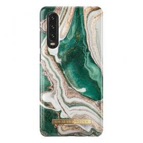 iDeal of Sweden iDeal Fashion Case för Huawei P30 - Golden Jade Marble