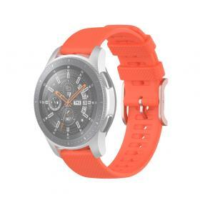 Taltech Dot Texture Armband för Samsung Galaxy Watch 45/46 mm 22 mm - Orange
