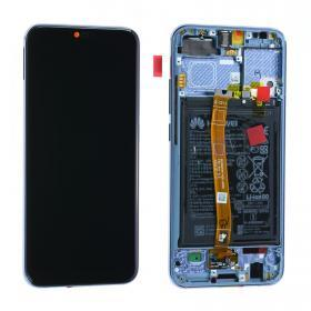 huawei Huawei Honor 10 Skärm LCD display inkl batteri - Original - Grå