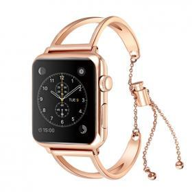 Metallarmband för Apple Watch 1-2-3 38 mm - Roséguld