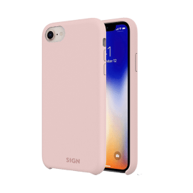 SiGN SiGN Liquid Silicone Case för iPhone 7 & 8/SE 2 - Rosa