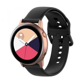 Silikonarmband för Samsung Galaxy Watch Active - Svart