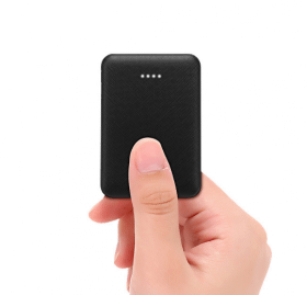 SiGN SiGN Ultratunn Powerbank 5000mAh - Svart