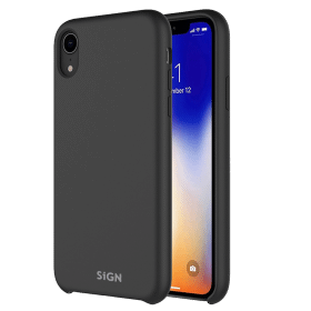 SiGN SiGN Liquid Silicone Case för iPhone X & XS - Svart