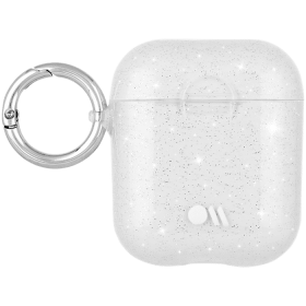 Case Mate Silikonfodral för Apple AirPods - Vit