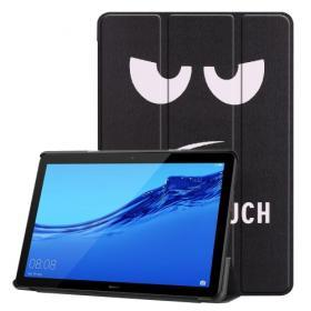 Tri-Fold Fodral Angry Face till Huawei MediaPad T5 10