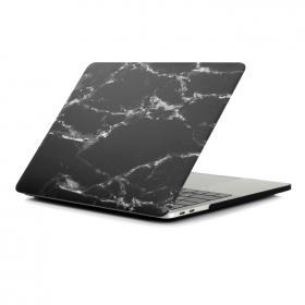 Taltech Marble Style Skal för MacBook Air 13.3 2018/2020 - Svart