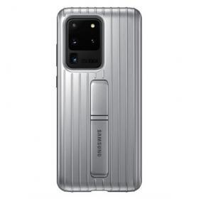 Samsung Samsung Protective Standing Cover för Samsung Galaxy S20 Ultra - Silver