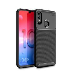 Taltech Kolfiber skal Drop-Proof till Huawei P Smart (2019) - Svart
