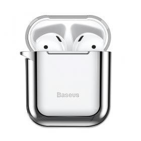 Baseus Baseus Shining Fodral till Apple AirPods 1st & 2nd gen - Silver
