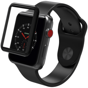Zagg ZAGG InvisibleShield Glass Curve Elite för Apple Watch, 38mm
