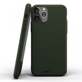 Nudient Nudient Thin Skal för iPhone 11 Pro Max - Majestic Green
