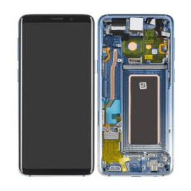 Samsung Galaxy S9 Skärm med LCD Display - Polaris Blue