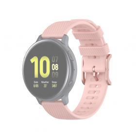 Taltech Dot Texture Armband för Samsung Galaxy Watch 41/42 mm 20 mm - Rosa