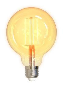 Deltaco Smart Home LED-filamentlampa E27 WiFi 5.5W G95