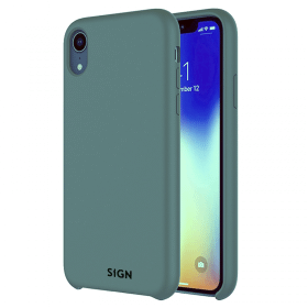 SiGN SiGN Liquid Silicone Case för iPhone XR - Mint