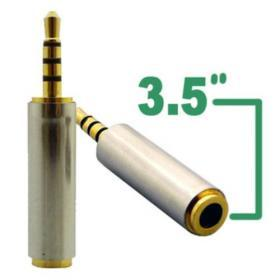 3.5mm Hona till 2.5mm Hane - Adapter
