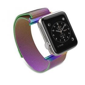 Taltech Milanese Metallarmband för Apple Watch 5-4 44 mm & 3-2-1 42mm - Multi