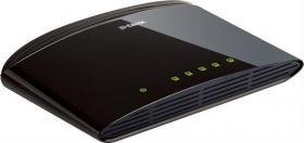D-link Switch 5-port, 10/100Mbps - Svart