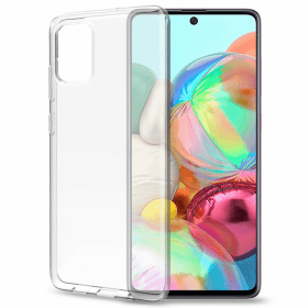 Celly Celly Gelskin Skal för Samsung Galaxy A71 - Transparent