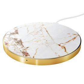 iDeal of Sweden iDeal Fashion QI Charger - Carrara Gold