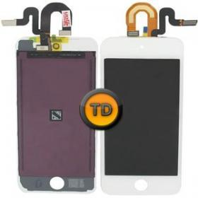 OEM iPod Touch 5 Komplett LCD & Digitizer Vit