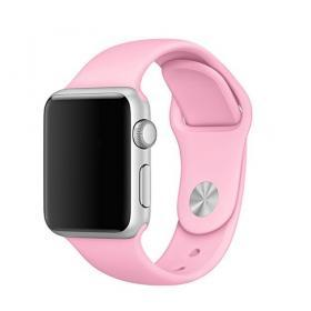 Taltech Mjukt Silikonarmband för Apple Watch 5-4 40mm & 3-2-1 38mm - Rosa