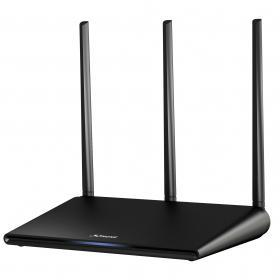 STRONG Dual Band Router 750 Mbit - Svart
