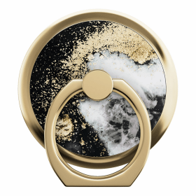 iDeal of Sweden iDeal Magnetic Ring Mount Universal - Black Galaxy Marble